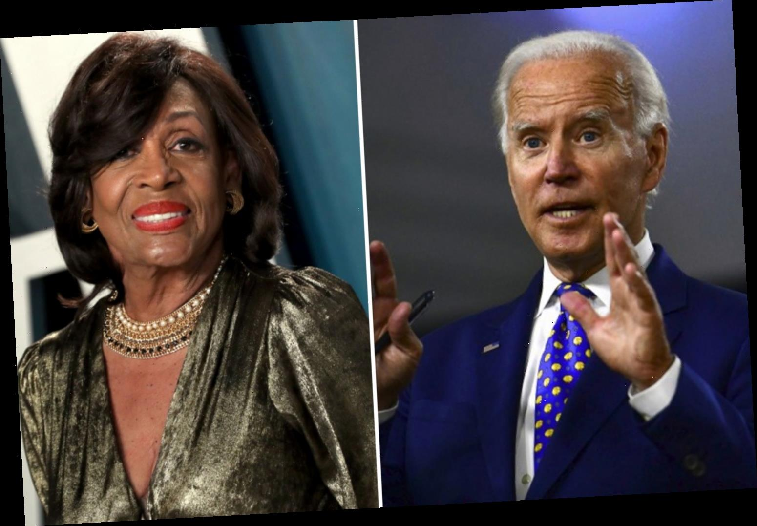 Maxine Waters says Joe Biden 'can't go home' without picking a black woman as his running mate