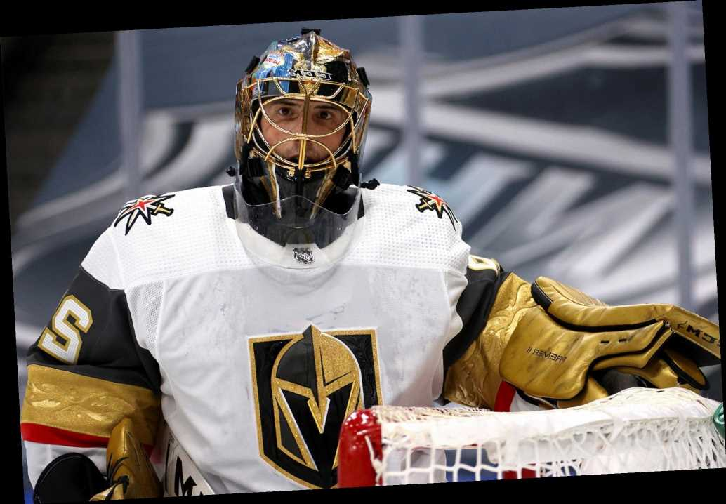 Marc Andre Fleury's agent blasts Knights with gruesome backstabbing picture