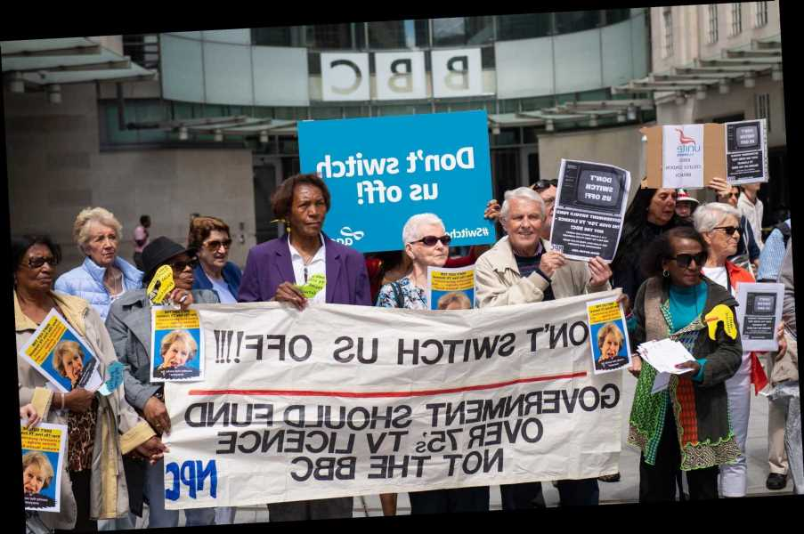 OAPs who refuse to pay BBC licence fee may face BAILIFFS as corporation splurges £38m on staff to collect £157.50 levy