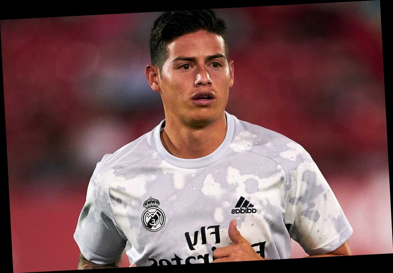 Arsenal transfer bid for James Rodriguez hots up as Gunners 'show most interest' in Colombian forward