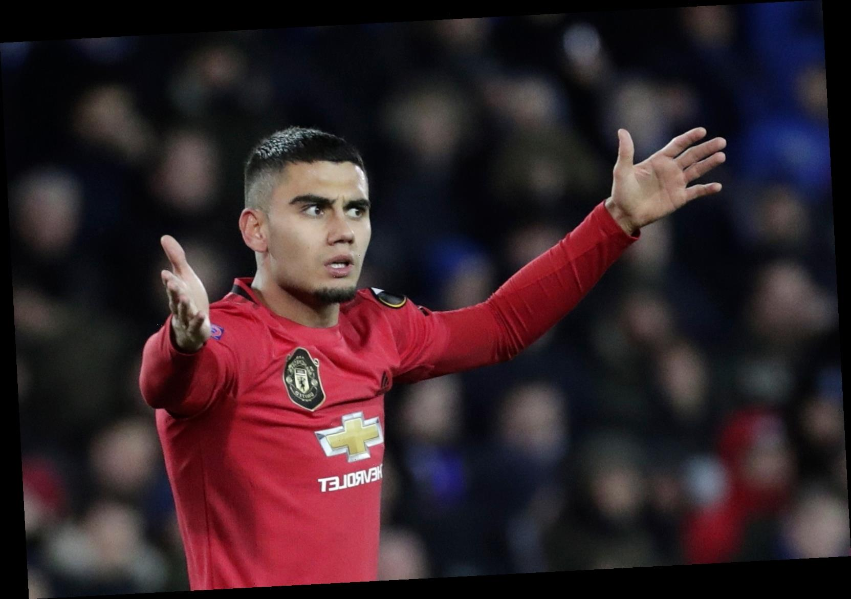Man Utd star Andreas Pereira set to leave club with Benfica leading transfer chase ahead of German and Spanish rivals