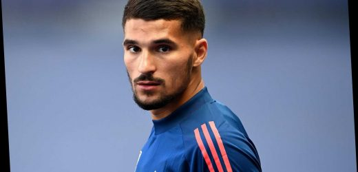 Arsenal transfer boost in Houssem Aouar race as Lyon chief Juninho admits he could leave with Man City interested