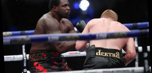 Watch Povetkin's ko punch on Dillian Whyte which ended 1,000-day heavyweight glory dream and silenced Fight Camp