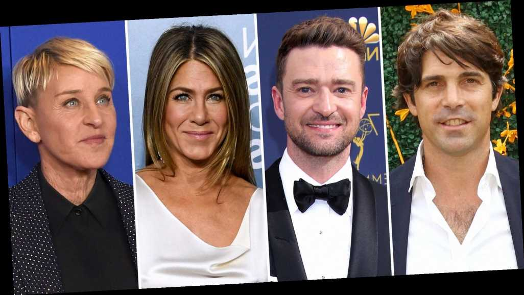 Nacho Figueras Calls on Justin Timberlake, Jen Aniston, More to Support Ellen