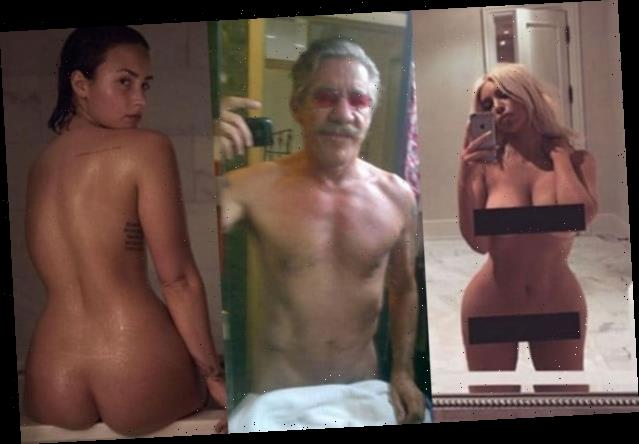 16 Stars Nude Selfies, From Chrissy Teigen to Ansel Elgort (Photos)