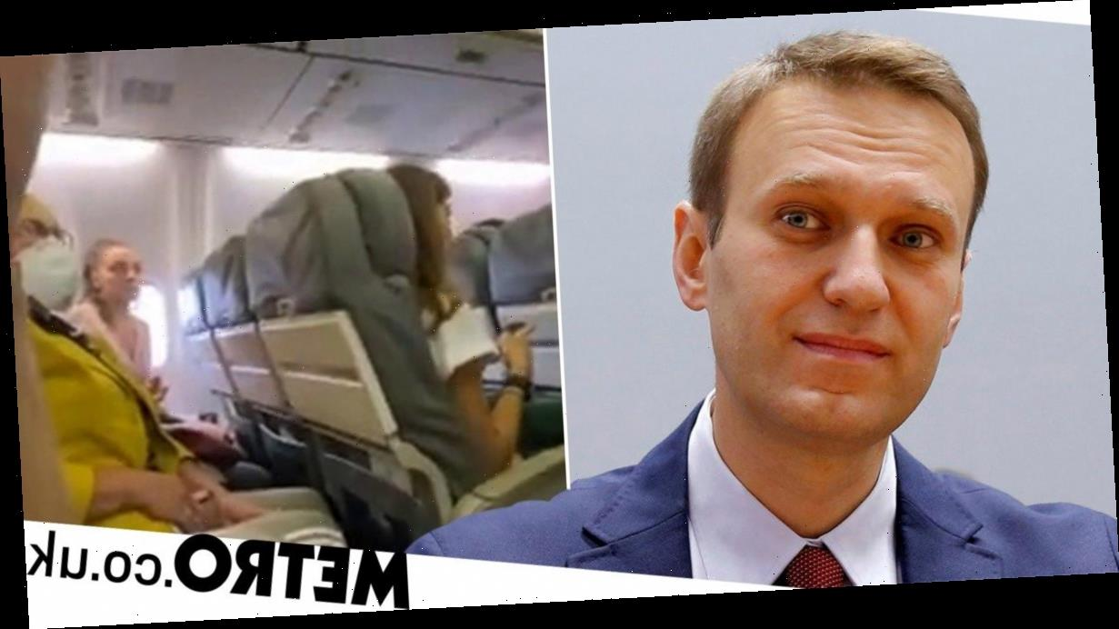 Russian opposition leader 'poisoned' and taken off plane screaming in agony