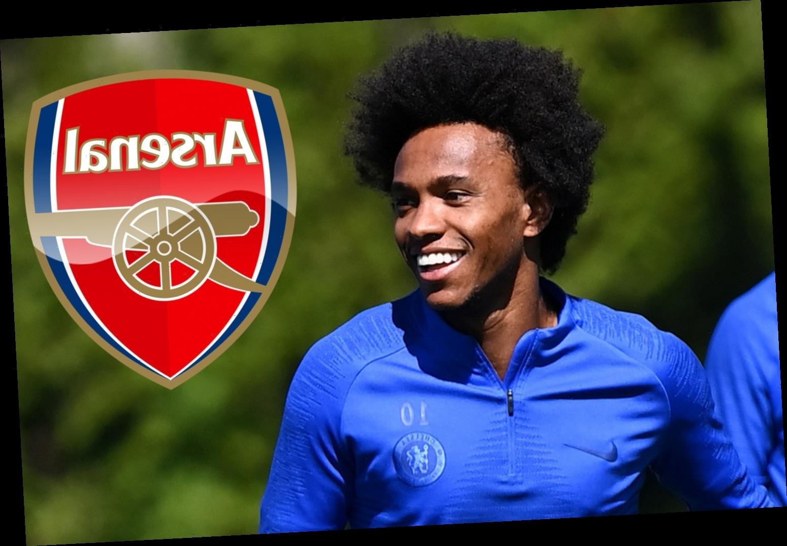 Willian REJECTS Chelsea's latest two-year contract offer in Arsenal transfer boost as Arteta targets Brazilian