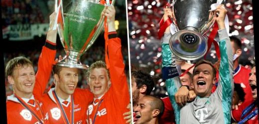 Europe's most successful teams ever with Man Utd tenth and Bayern Munich fifth after triumph over PSG