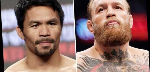 Pacquiao would obliterate 'bum' Conor McGregor quicker than Mayweather but fight vs UFC legend not worth it, says coach