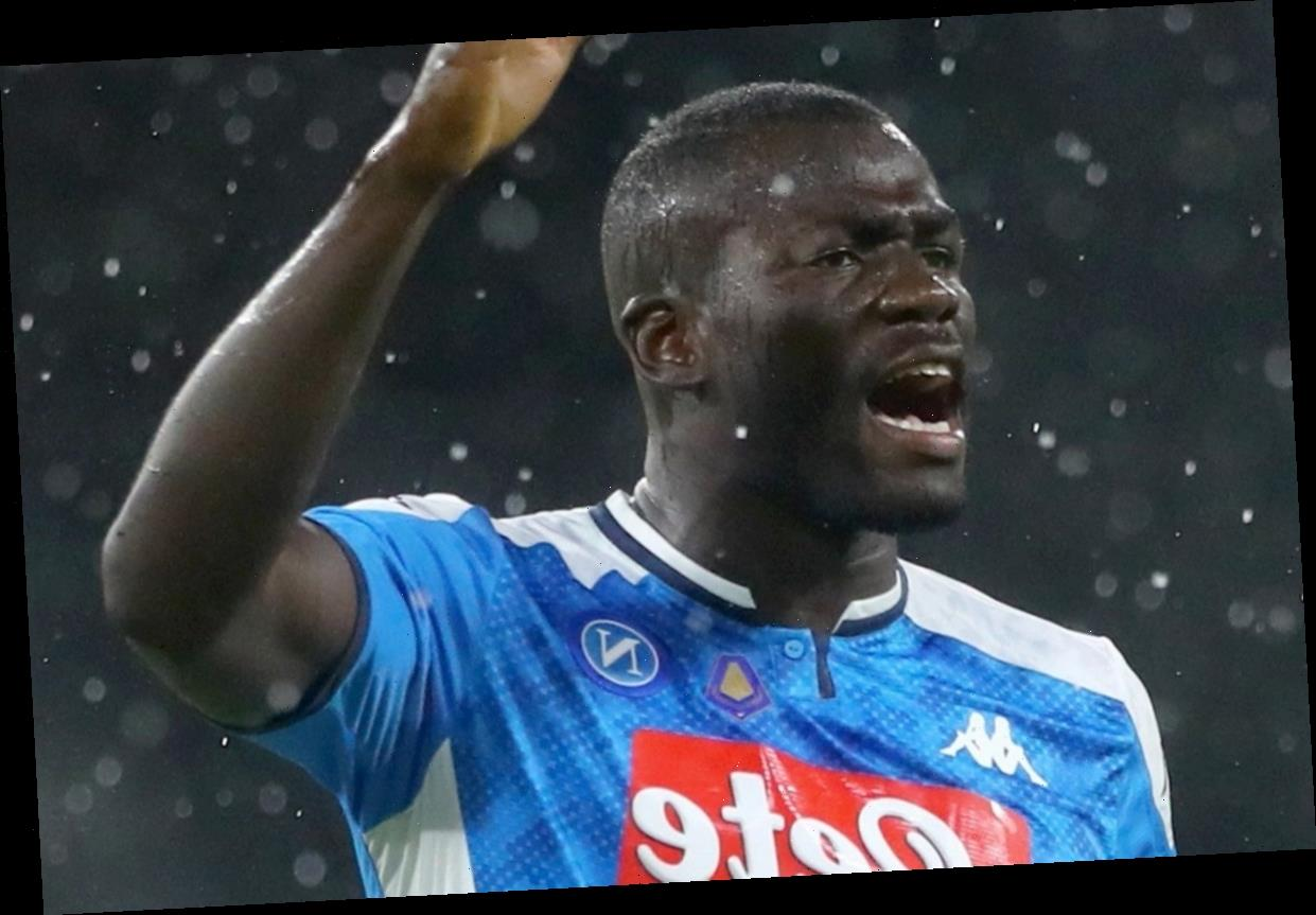 Man City 'agree transfer with Napoli to sign Kalidou Koulibaly' as Italians look set to miss out on replacement Gabriel