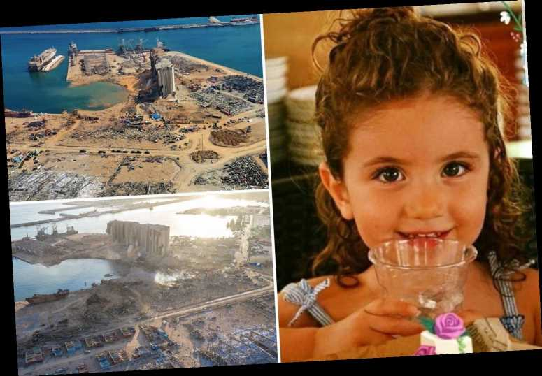 Beirut tragedy as missing three-year-old girl is found dead among rubble amid fears 80,000 kids are now homeless