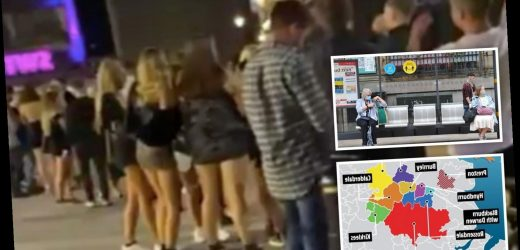 Preston youths urged 'don't kill granny' as city hits lockdown amid spike in cases among under-30s after nightclub fury