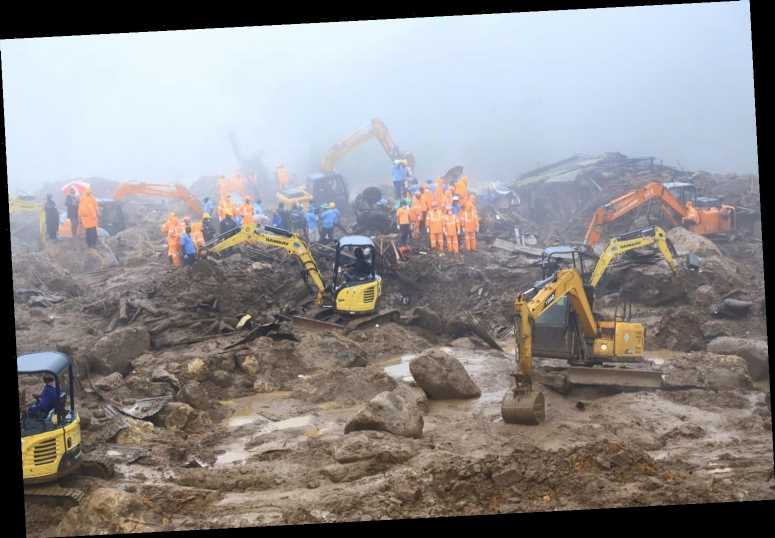 43 People Killed and More Feared Dead After Torrential Rains Cause Massive Landslide in India