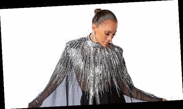 Jennifer Lopez Shimmers In Sequined Cloak & Sheer Gown Ahead Of 'World Of Dance' Finale — Pic