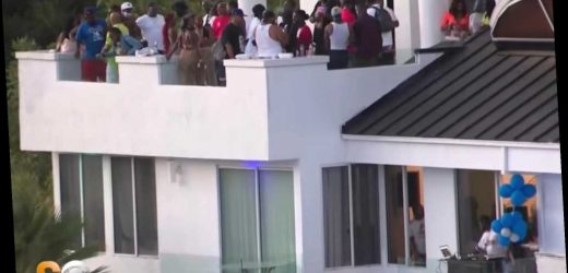 Four reportedly shot at Beverly Hills party with 'hundreds' thrown for NFL player