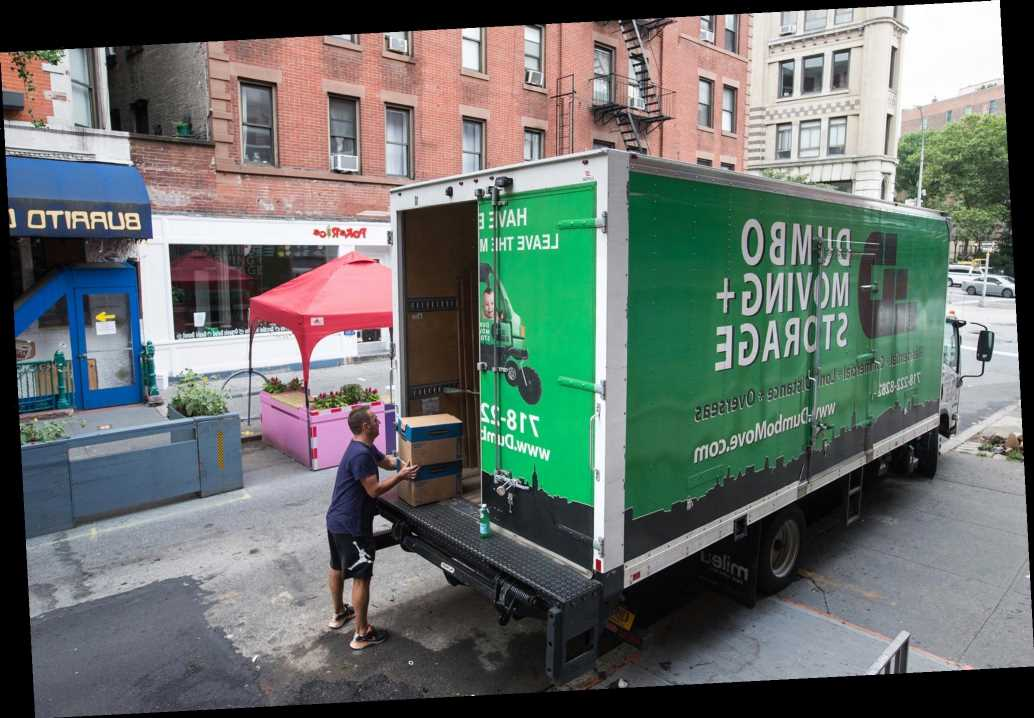 Moving companies in such high demand as New Yorkers flee the city