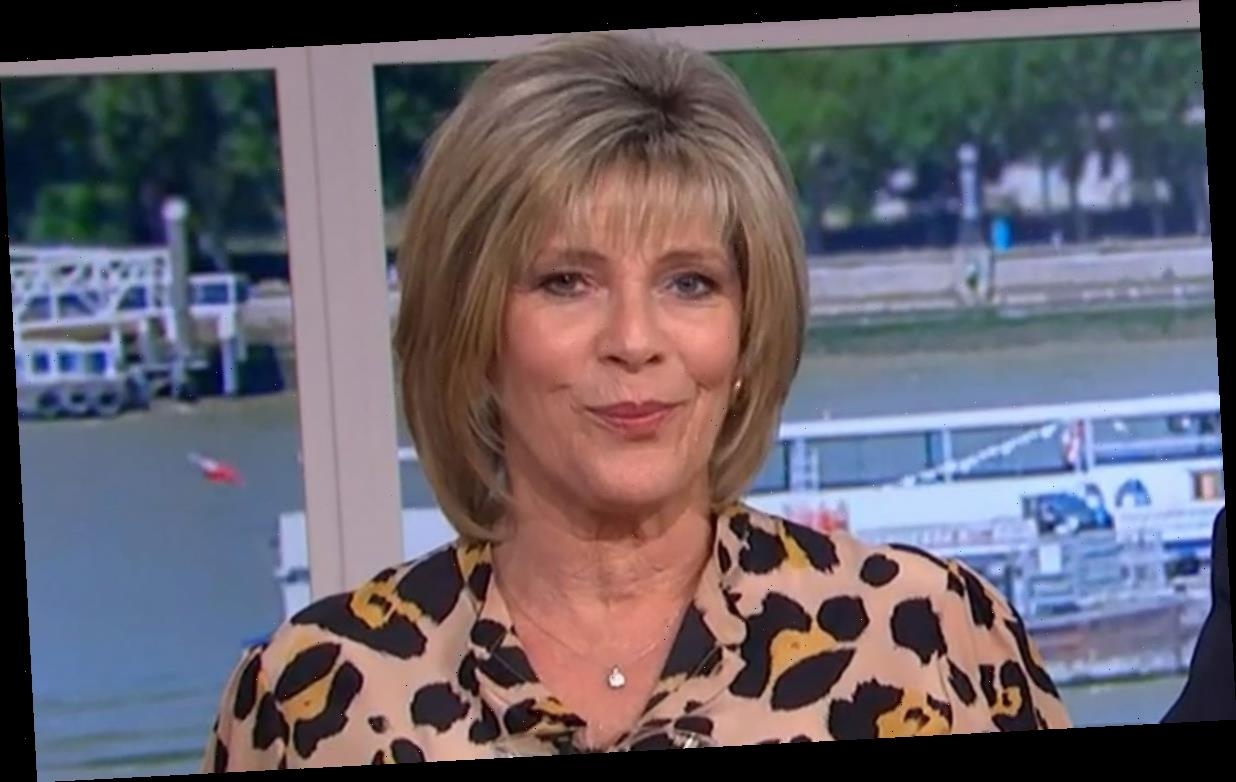 Ruth Langsford's fans go wild for her bold leopard print dress on This Morning