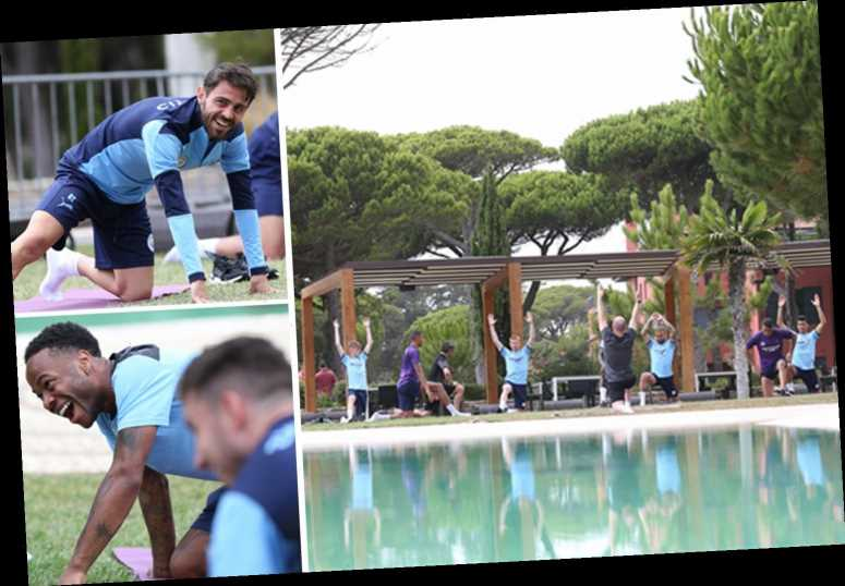 Inside Man City's plush Champions League hotel retreat with daily yoga sessions, serenity spa and own personal trainers