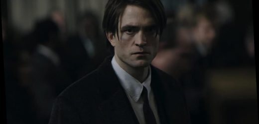 Robert Pattinson sparkles as an eyeliner-wearing Bruce Wayne in 'The Batman'
