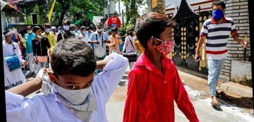 India records biggest single-day coronavirus infection spike with 78,761 new cases