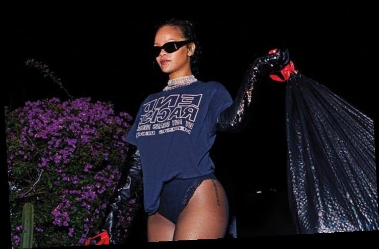 Rihanna Puts Lavish and Sexy Spin on Household Chores in Harper's Bazaar Pics