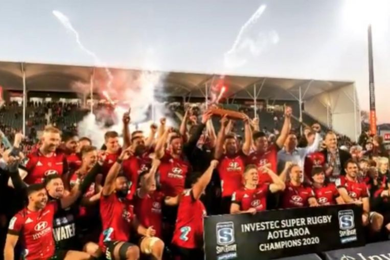 Rugby: Canterbury Crusaders win Super Rugby Aotearoa title after customary late surge