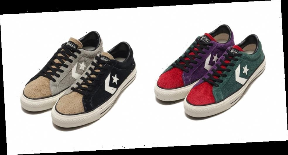 Converse Reworks Proride SK OX With Two Asymmetrical Colorways