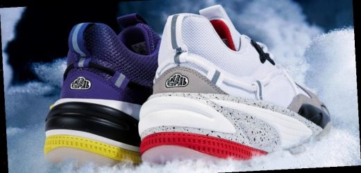 "J. Cole and PUMA Ready RS-Dreamer in ""Purple Heart"" and ""Concrete Jungle"" Colorways"