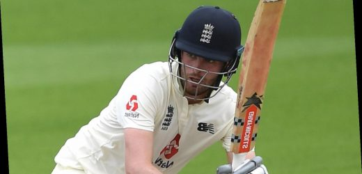 Dom Sibley 'greedy' for greater England Test success and centuries