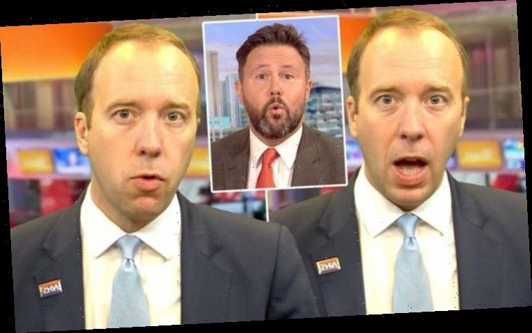 Matt Hancock clashes with BBC Breakfast host in heated testing row: 'Not very specific!'