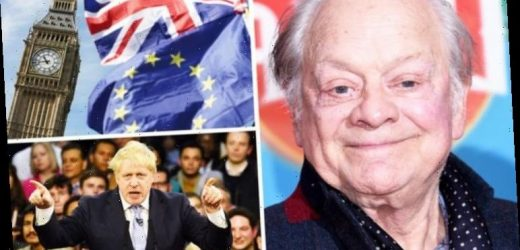 David Jason's Brexit confession exposed: 'It's a nice little earner'