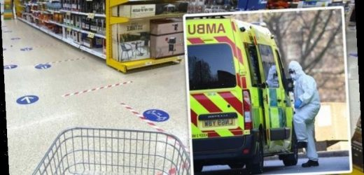 Coronavirus: 'Danger zone' of supermarkets identified in warning to avoid second lockdown