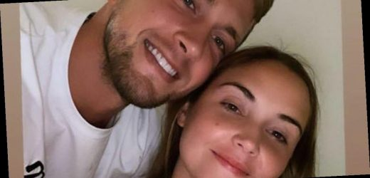 Jacqueline Jossa pines for husband Dan Osborne and tells fans she misses him as he works late