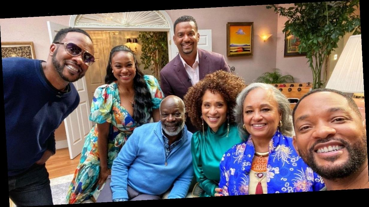 Will Smith poses with Fresh Prince of Bel-Air cast amid 'heartfelt' reunion show