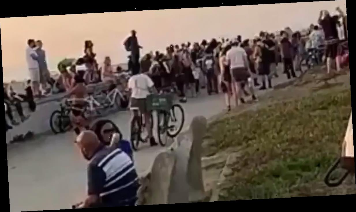 SF Mayor Slams Burning Man Beach Partiers During COVID Pandemic, Wildfires