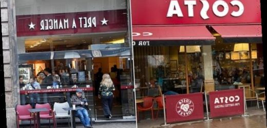 Costa says 1,650 jobs at risk in cost-cutting drive