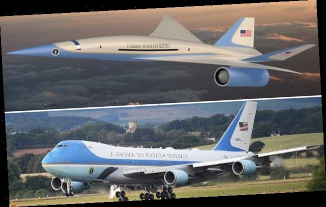 Pentagon asks firm to draw up plans for new supersonic Air Force One