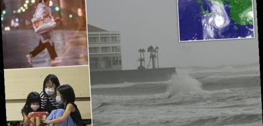 Seven MILLION people told to evacuate as typhoon approaches Japan