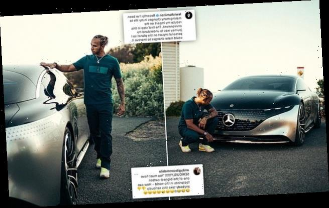 Lewis Hamilton mocked for cutting carbon footprint with £80k Mercedes