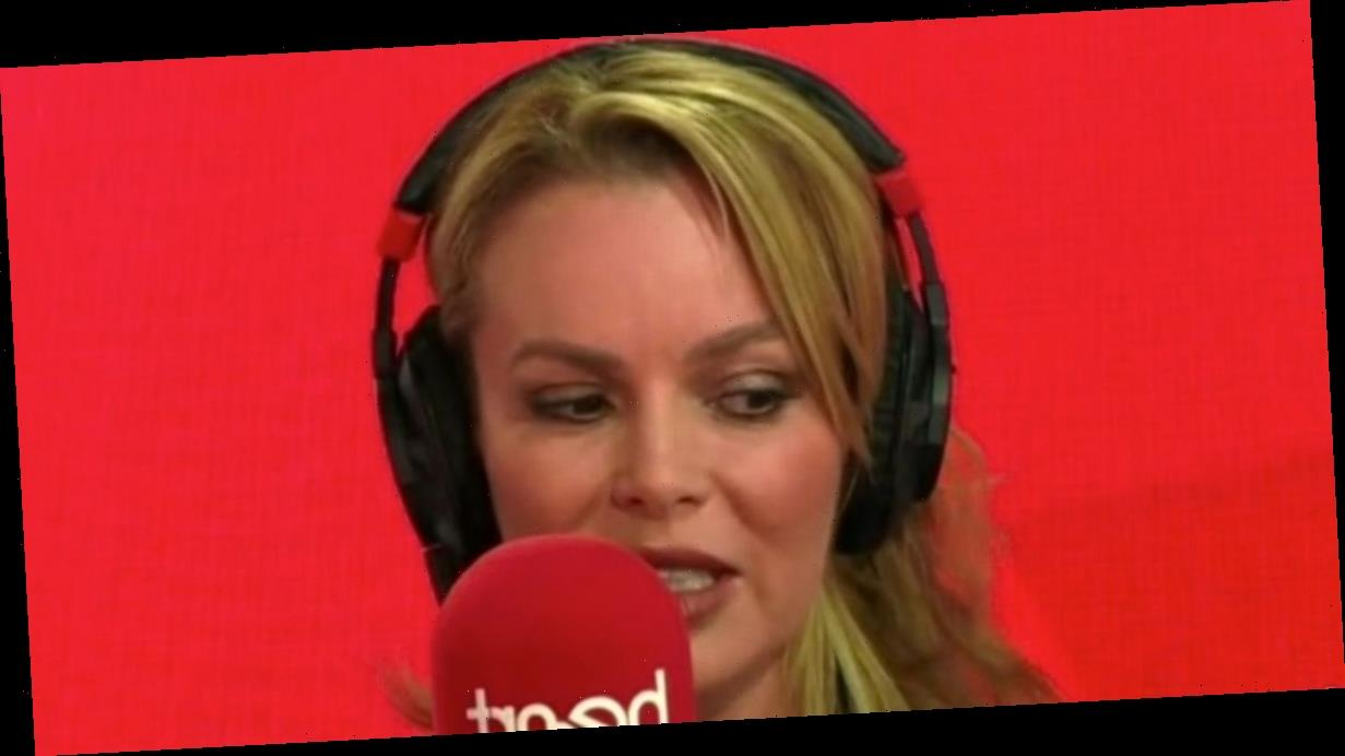 Amanda Holden fights tears on Lorraine recalling husband's reaction to new song
