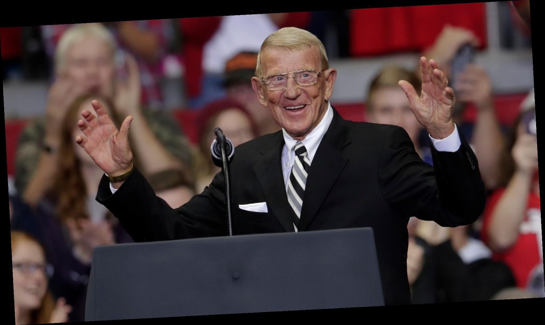 Trump To Award Football Coach Lou Holtz With Medal of Freedom