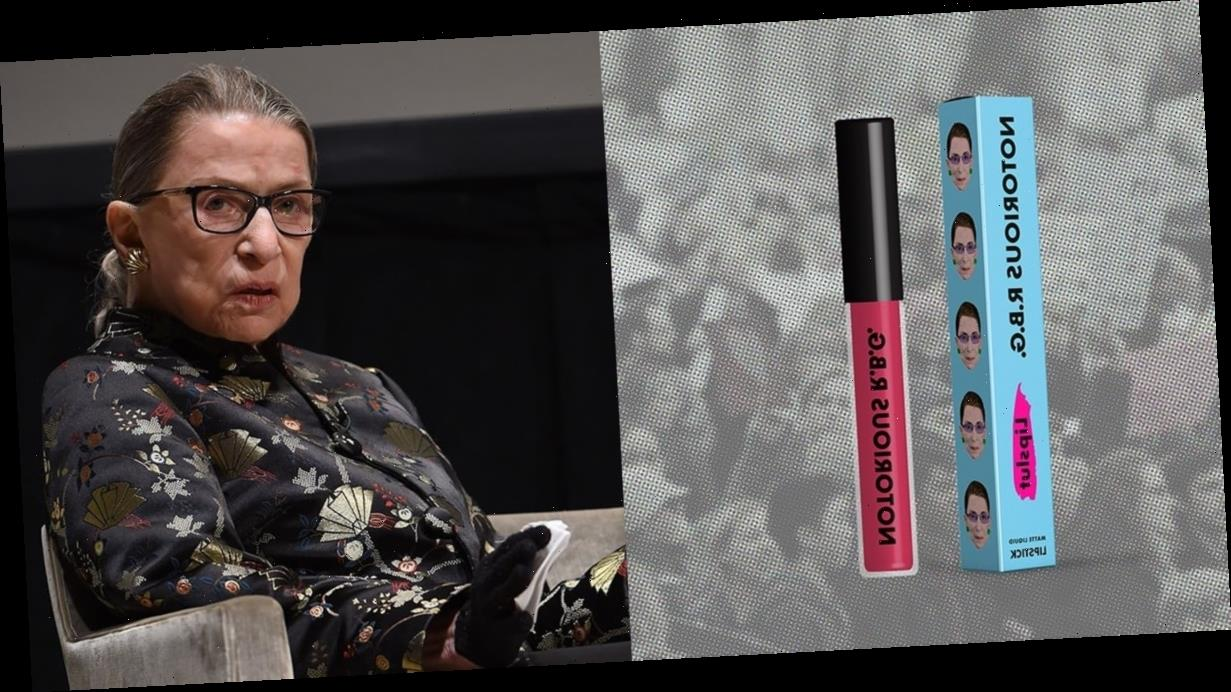 This Lipstick Lets You Honor Ruth Bader Ginsburg — and Give Back to Her Favorite Causes