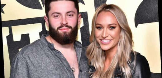 Emily Mayfield a 'proud wife' after Baker Mayfield's anthem stance