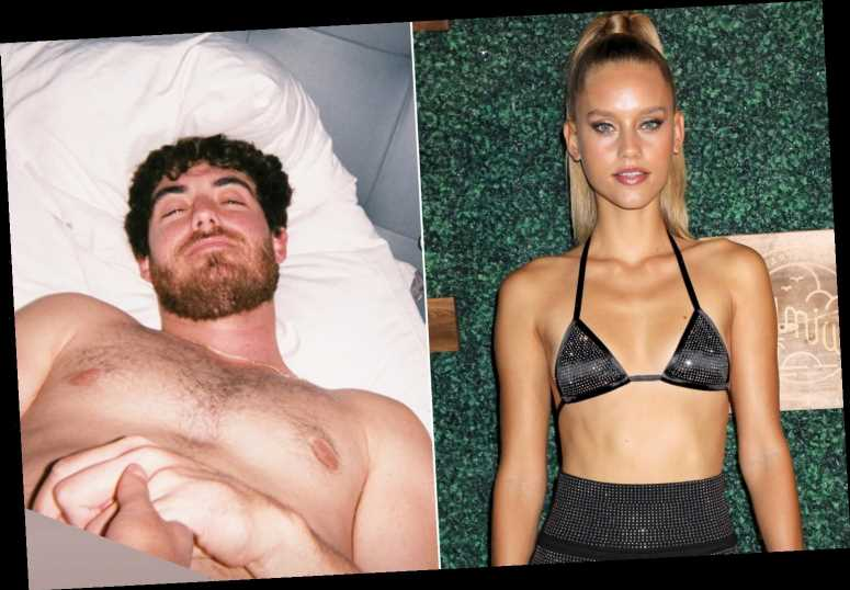 Cody Bellinger's model girlfriend shares snap of Dodgers star in bed