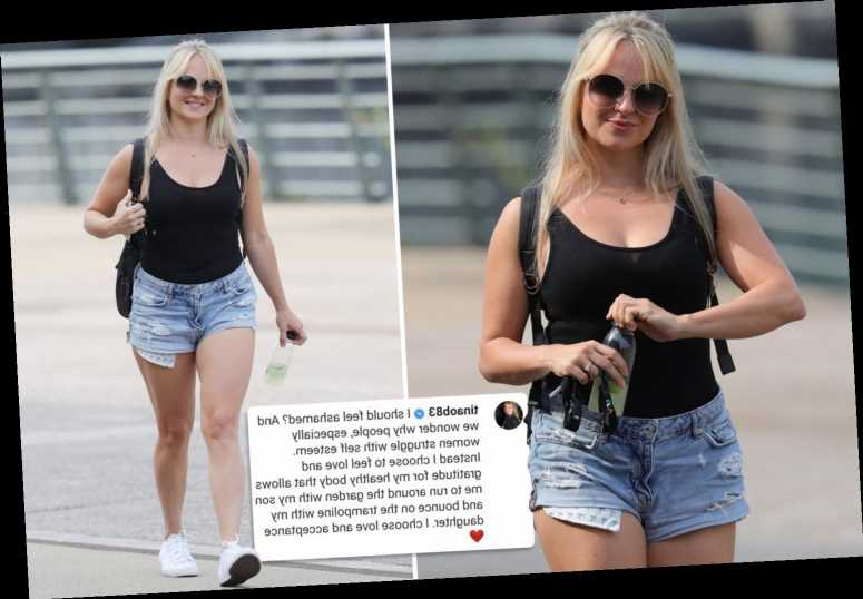 Coronation Street's Tina O'Brien hits back at trolls who called her 'fat' for wearing denim hotpants