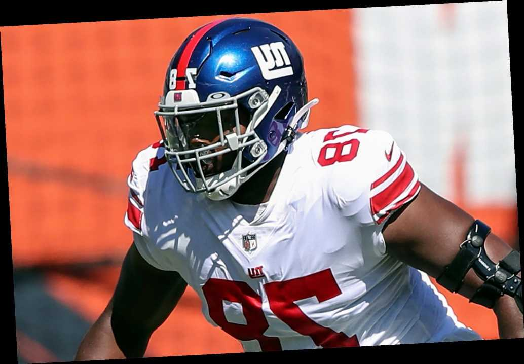 It certainly hasn't been easy for Giants' Andrew Thomas