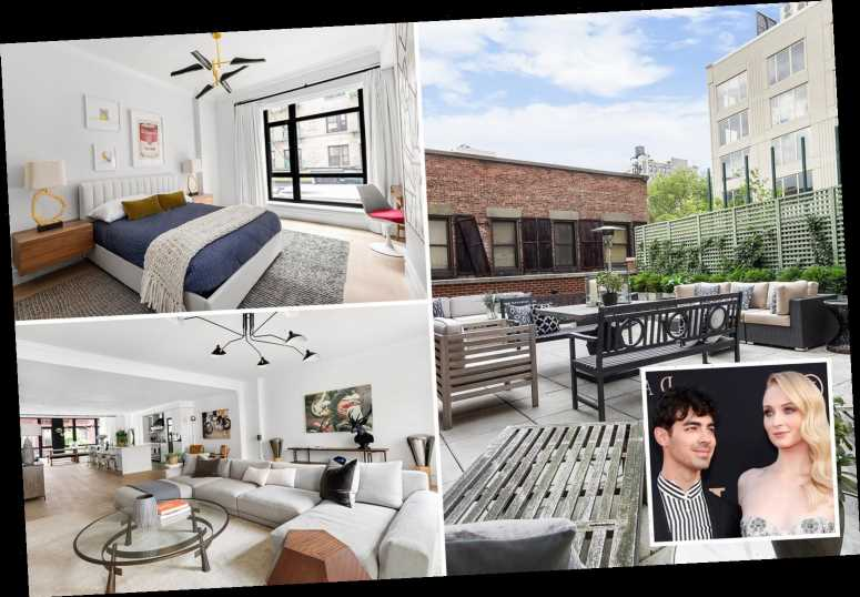Inside Sophie Turner and Joe Jonas swanky Manhattan £4.5M apartment they've put up for sale with HUGE terrace