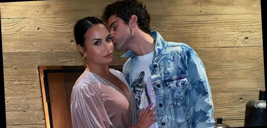 Demi Lovato Wears 'Dogs Over People' Shirt, Ditches Ring After Max Split