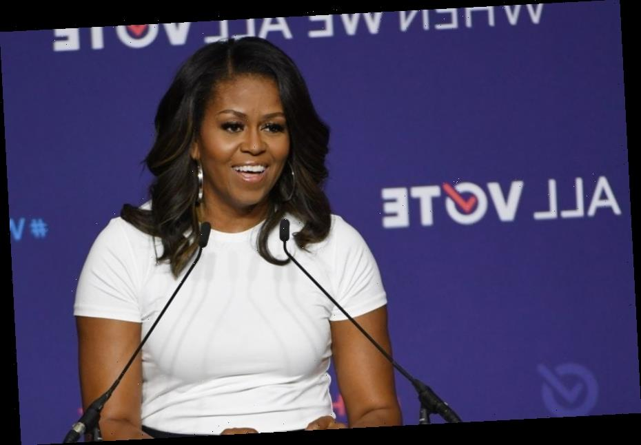 Michelle Obama Hosts Star-Studded Voter Registration Day Takeover