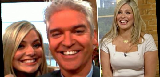 Holly Willoughby and Phillip Schofield celebrate 11 years on This Morning together as fans go wild for throwback snaps